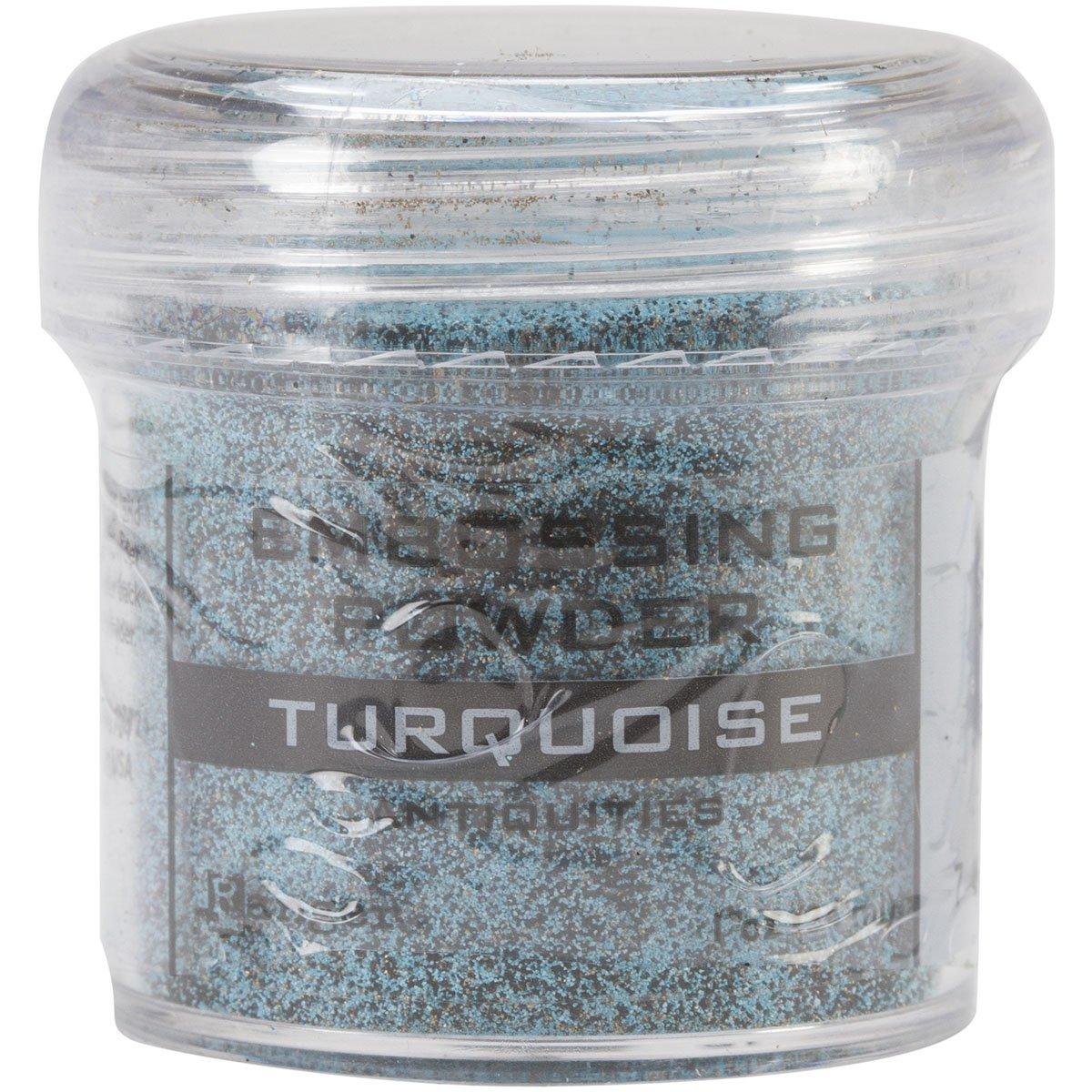 Ranger Turquoise -Embossing Powder, Acrylic, Multicolour EPJ-36692