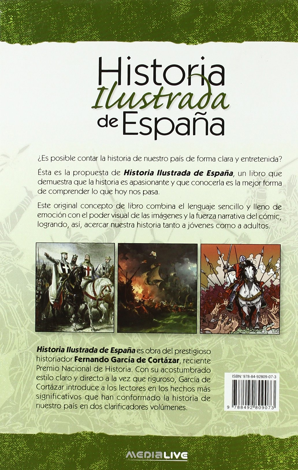 Historia ilustrada de España vol. 2: Amazon.es: Garcia De Cortazar, Fernando: Libros
