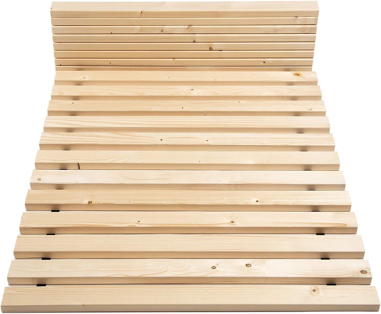 Tuga de madera Tech 300 kg superficie Last somier enrollable ...
