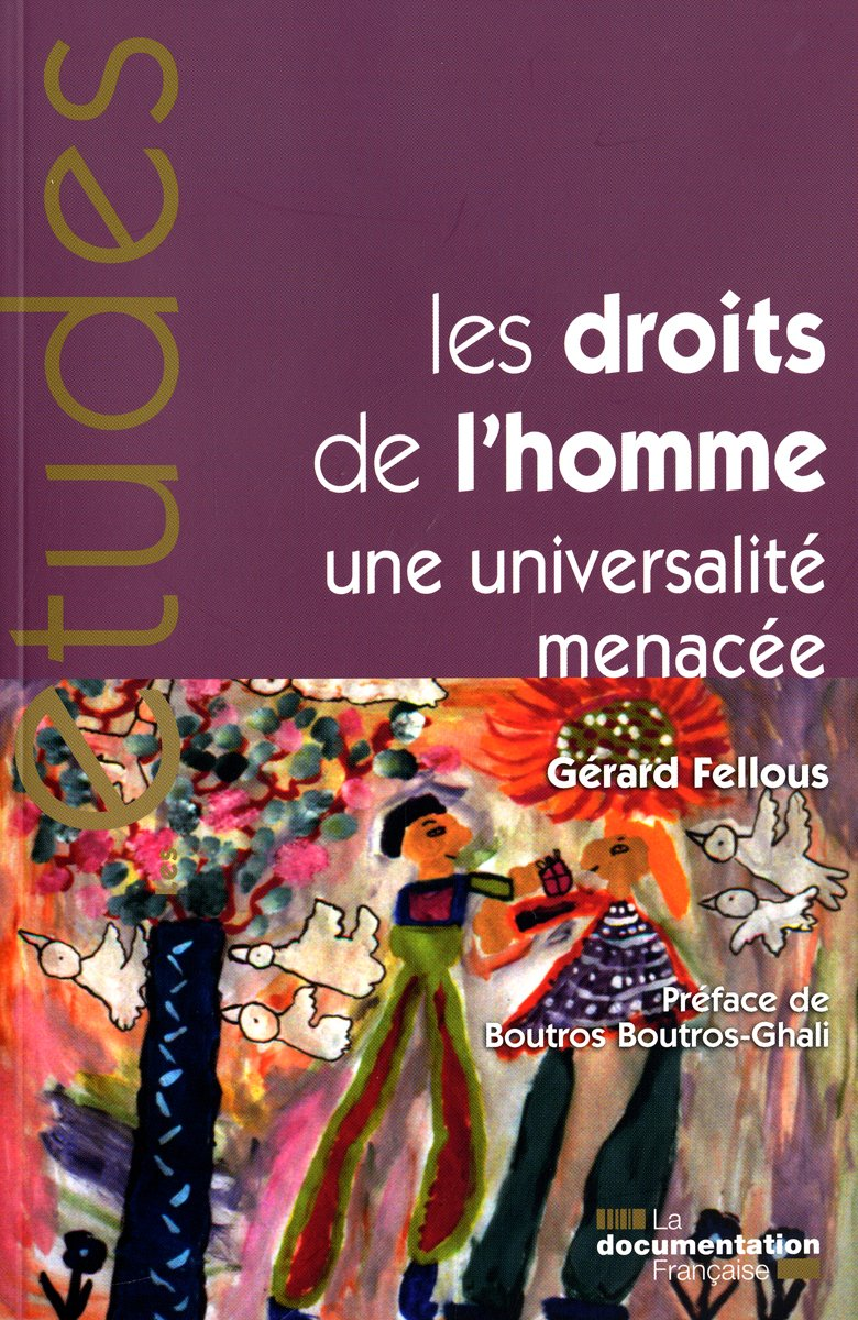 Les droits de l'homme, une universalité menacée (n.5306/07/08) Broché – 11 février 2010 Gérard Fellous Les droits de l' homme La Documentation française B002VDH1II