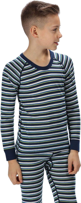 Beb/é-Ni/ños Regatta  Loco Half Zip Mini Stripe Fleece Forro Polar