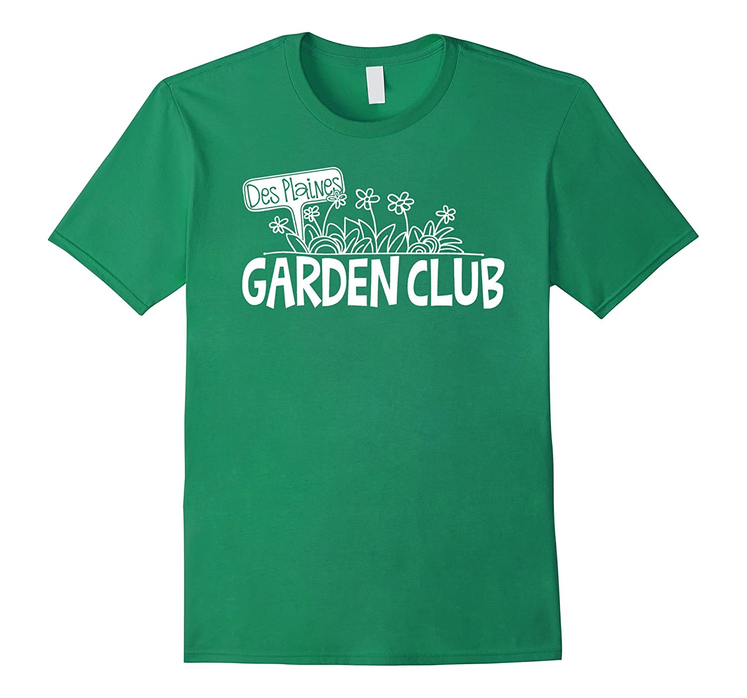 Official Des Plaines Garden Club T-Shirt-Art