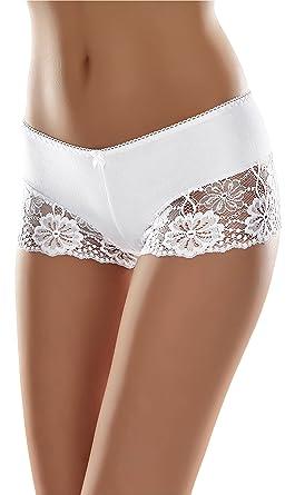 Merry Style Bóxer Bragas de Encaje Shorty Sexy Ropa Interior Mujer MSGAB107: Amazon.es: Ropa y accesorios