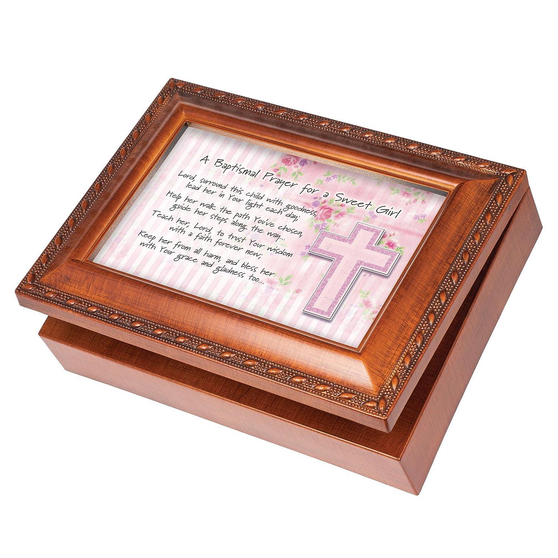 【メール便送料無料対応可】 Baptismal Prayer Girl Wood Finishジュエリー音楽ボックスPlays Tune You Tune B0117R60HG Are My Are Sunshine B0117R60HG, 焼きたてチーズタルト専門店PABLO:4c55feff --- arcego.dominiotemporario.com
