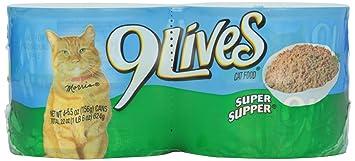 9 Lives Super Supper Cat Food 55 OZ Case Of 6 Amazon