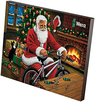 Charmant Wera 05135999001 2018 Adventskalender, One Size