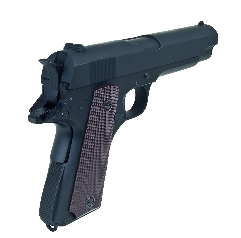 Softair Pistole GSG1911 aus Vollmetall, Kal. 6mm BB, AEP-System <0.5 ...