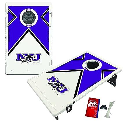 Fantastic Amazon Com Niagara University Purple Eagles Baggo Bean Bag Pabps2019 Chair Design Images Pabps2019Com