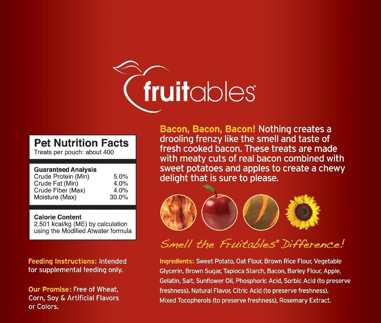 Amazon Fruitables Skinny Minis 12 Ounce Apple Bacon Low