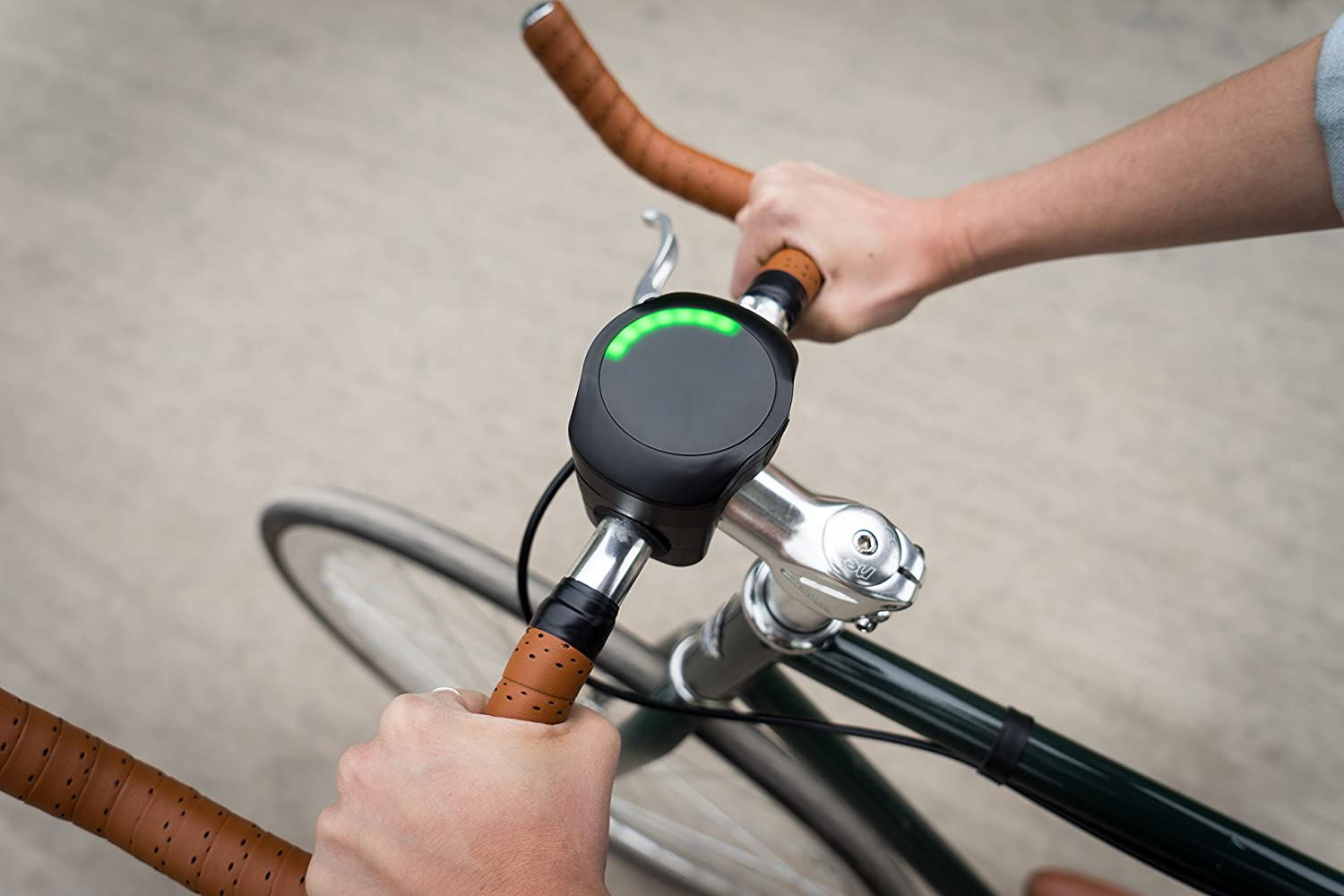 SmartHalo Premium Pack | Smart Bike Accessory Cycling Computer with Light