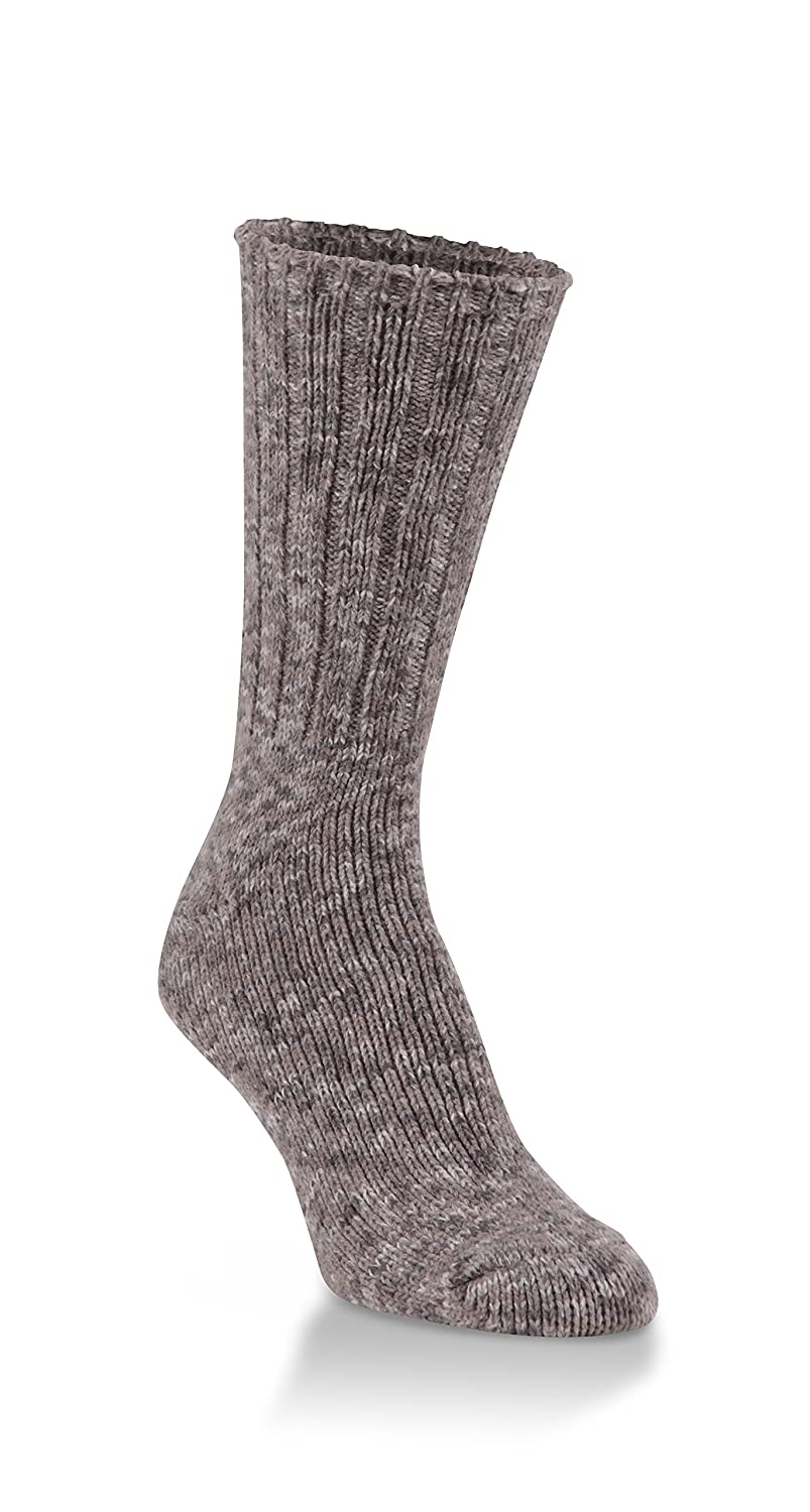 World's Softest Women's Weekend Collection Ragg Knit Crew Socks Fits Most (Shady Spacedye) World' s Softest Socks WRAGGCRW