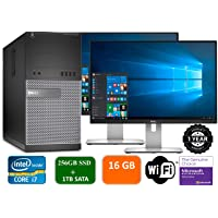 Deals on Dell Optiplex 9020 Dual 22-inch Desktop w/Core i7 Refurb