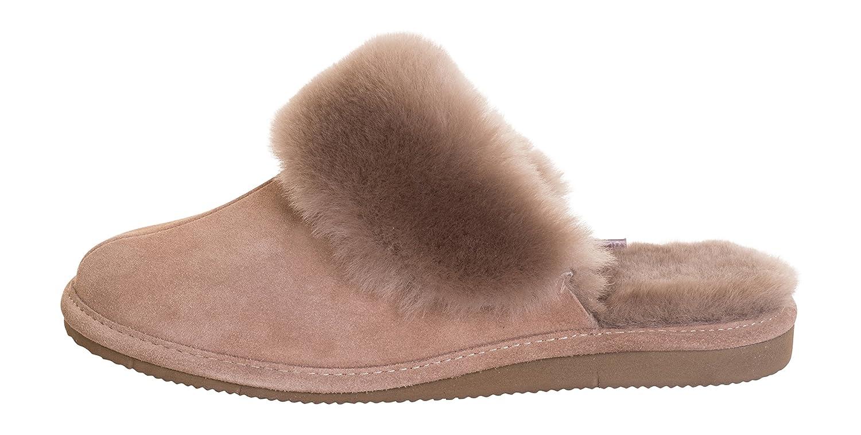 Pantofole Donna Donna Donna Pelle Pecora di Pecora Pelle Scarpe per Casa   19c020