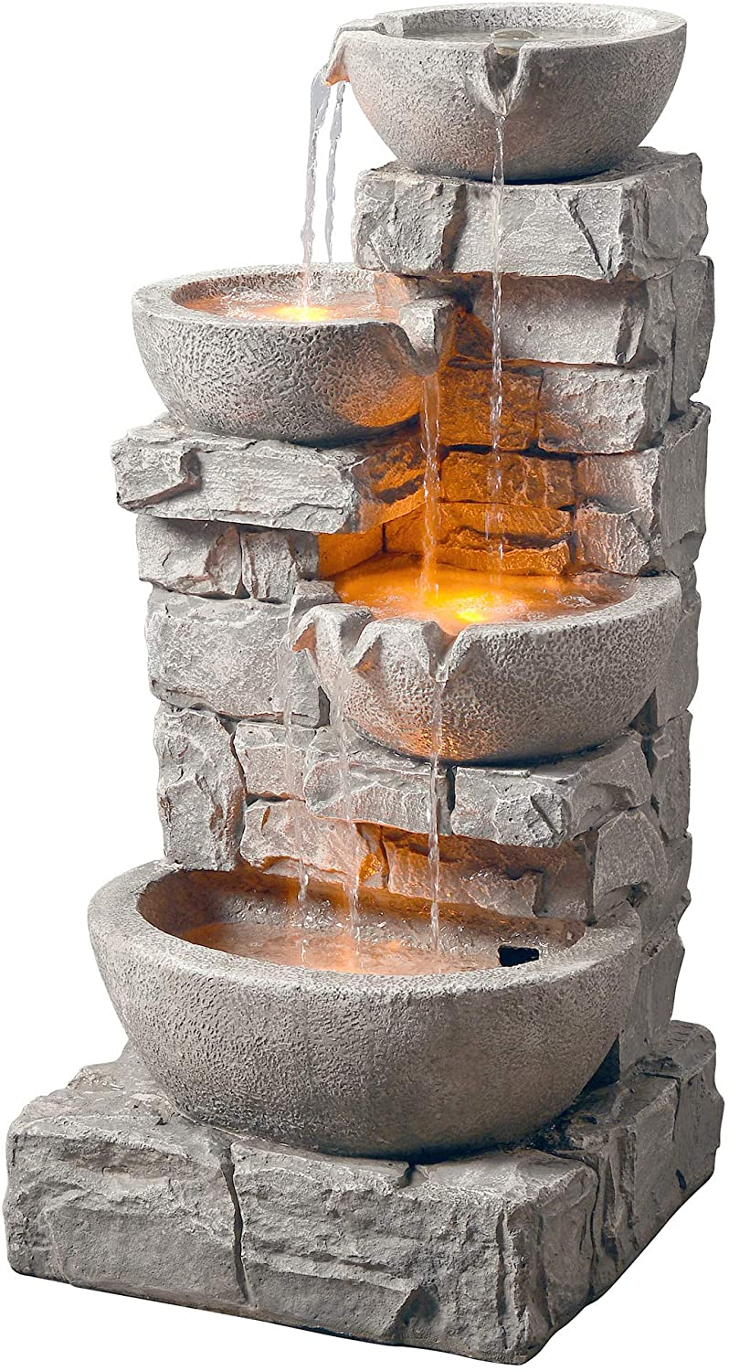 Peaktop 201601PT Waterfall Fountain Black Friday Deal
