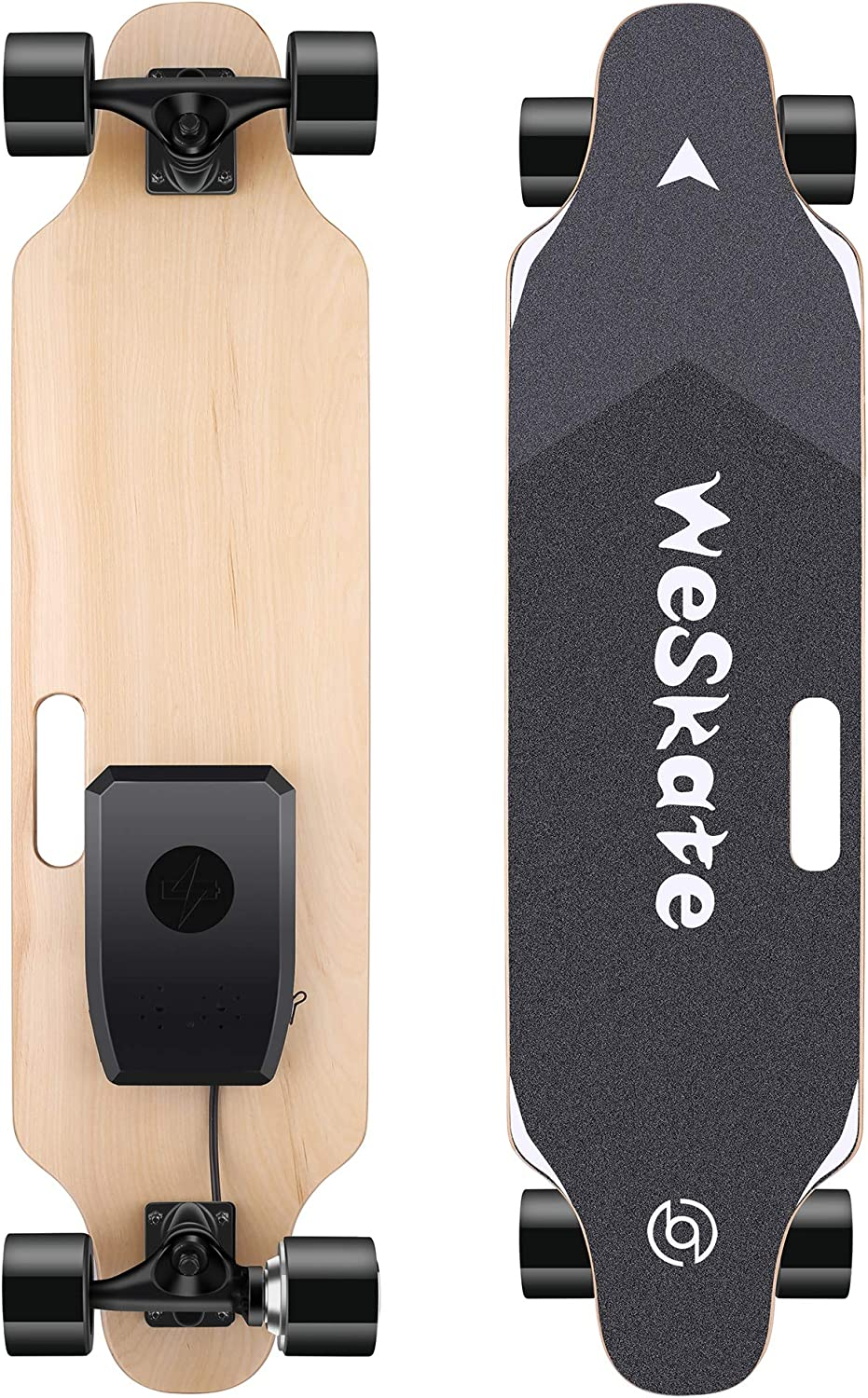 Details about  /Electric Skateboard Longboard 350W Dual Motor 12MPH Top Speed 7 Layers g 02 h 13