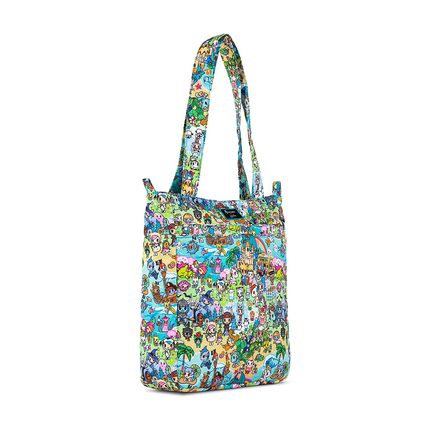 Cape Cod Coastal Collection JuJuBe Be Light Everyday Lightweight Zippered Tote Bag