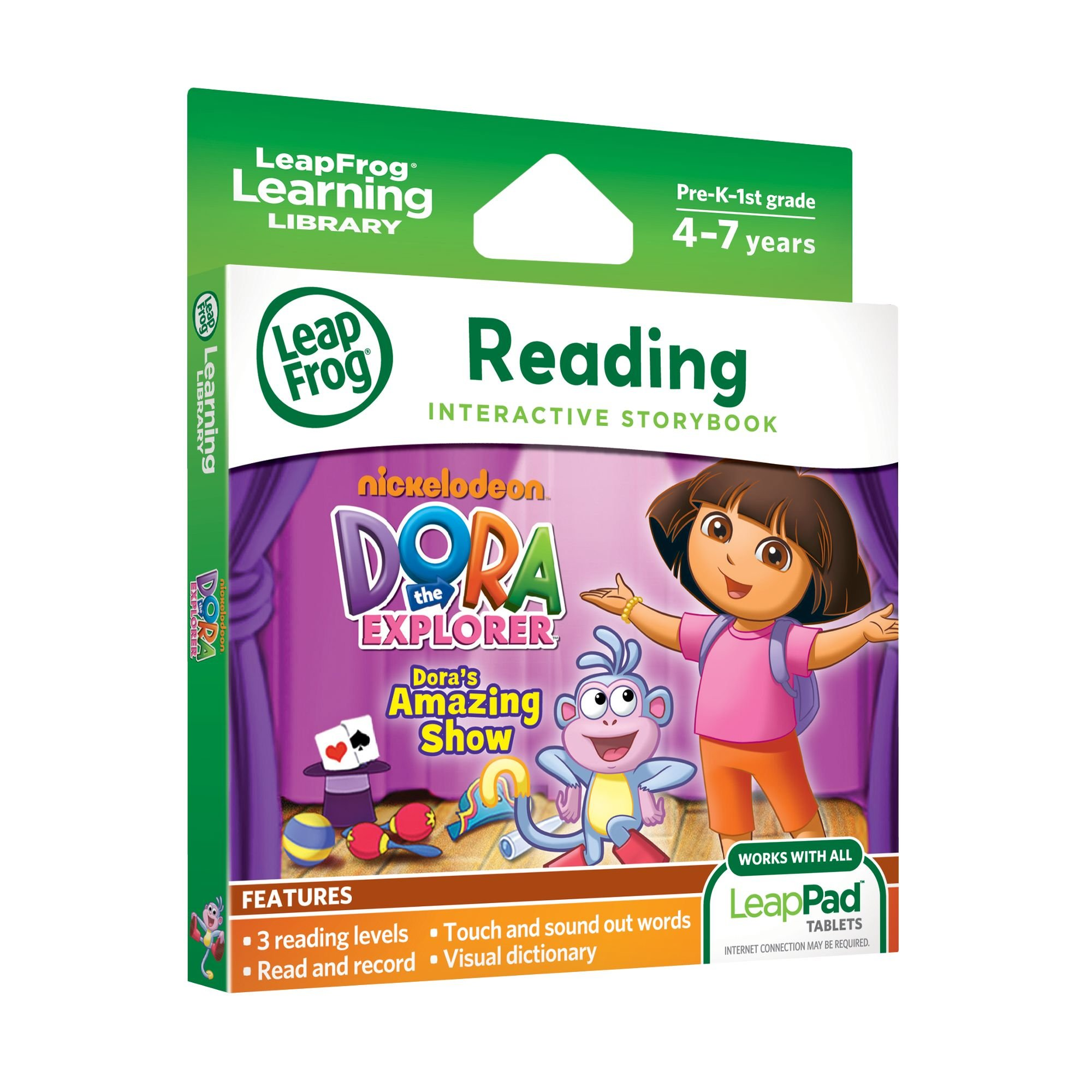 LeapFrog LeapPad Dora's Amazing Show Ultra eBook (works with all LeapPad tablets) by LeapFrog (Image #2)