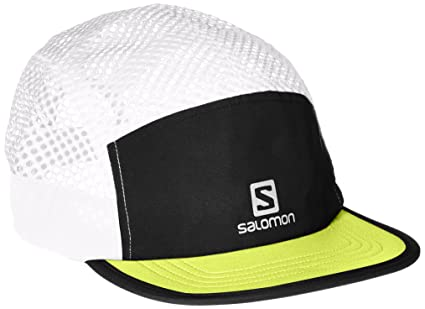 dfca32e51 Buy Salomon Unisex Air Logo Cap, Black, Lime Punch, OSFA Online at ...