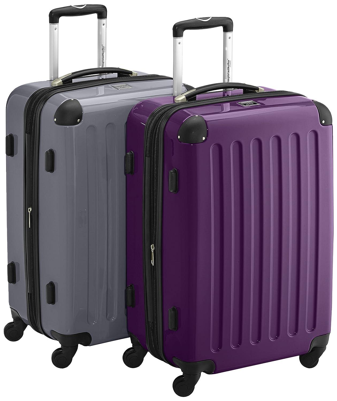 HAUPTSTADTKOFFER - Alex - 2er Koffer-Set Hartschale glänzend, TSA, 65 cm, 74 Liter, Apfelgrün Apfelgrün 58072747-T5353TSA