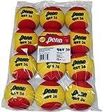 Penn QST 36 Tennis Balls - Youth Foam Red Tennis Balls for Beginners