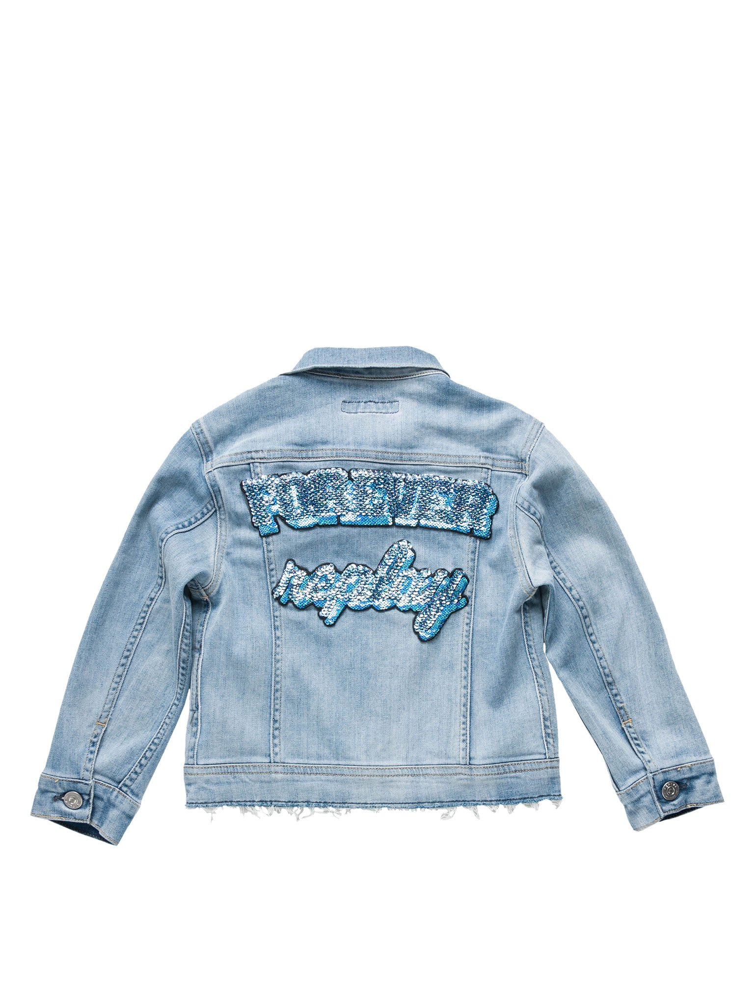 Replay Deep Comfort Girl's Jacket Blue in Size 8 Years by Replay (Image #2)