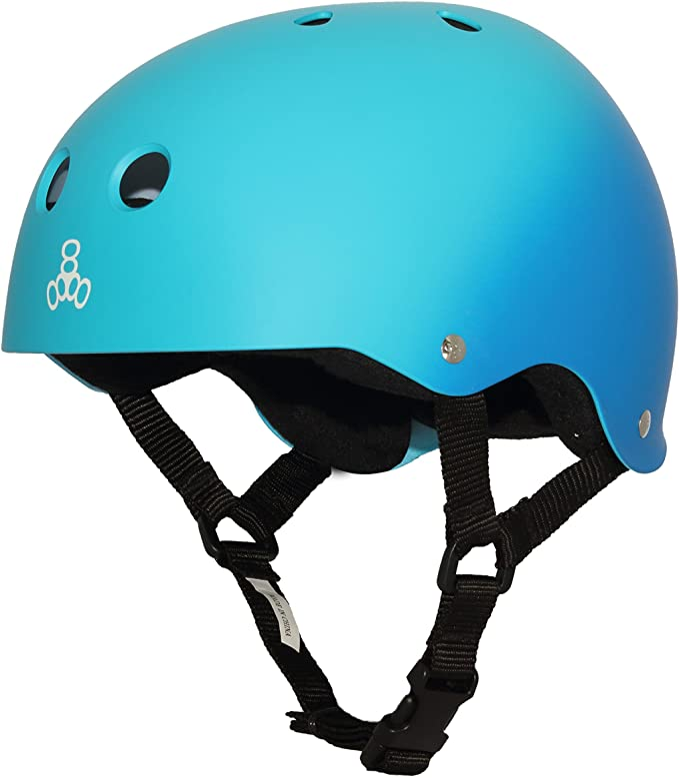 Rasta Yellow Rubber Triple Eight Sweatsaver Liner Skateboarding Helmet Medium