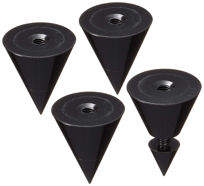 Dayton Audio DSS4-BK Black Speaker Spike Set 4 Pcs.
