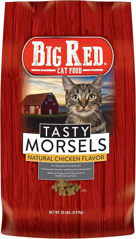 Big Red Dry Cat Food, 20 lb Bag