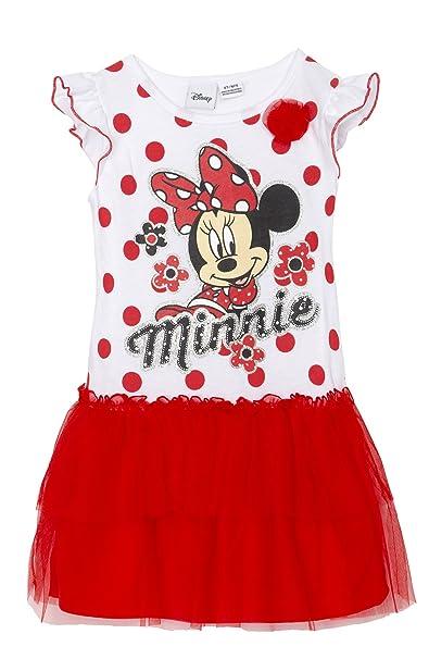 Disney Minnie Mouse Little Girls Play Vestido con Falda de Tule ...