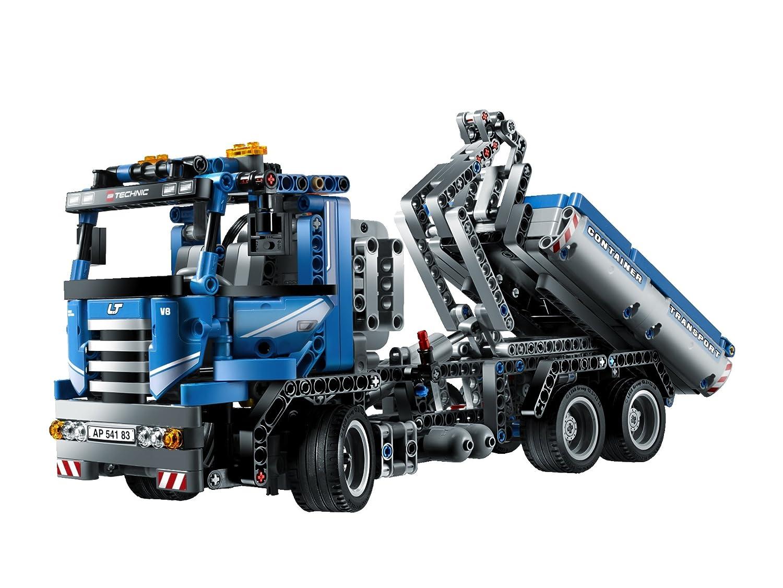 günstig kaufen LEGO Technik Container-Truck 8052