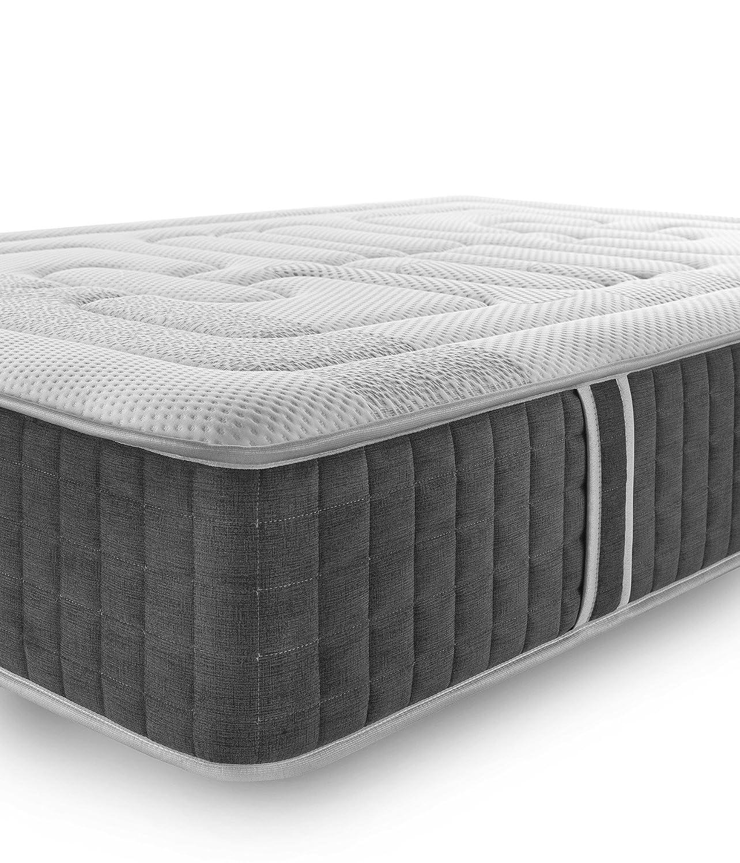 Más Relax, Viscogelfresh, Colchón Viscoelástico 135x190, 135x190x27 cm, Blanco: Amazon.es: Hogar