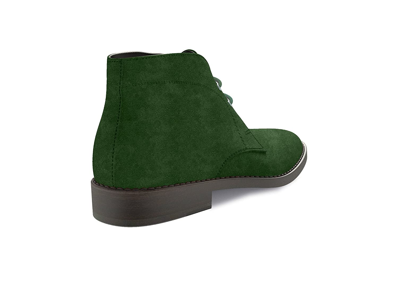 DIS - Mo zapatos - botas de desierto - Hombre, ante verde, 45: Amazon.es: Zapatos y complementos