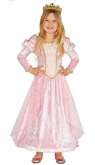 Kostum Fur Kinder Prinzessin Rosa Karneval Fasching Marchen