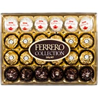 Ferrero Collection Chocolates Rocher Rondnoir Raffaello 24 Pack