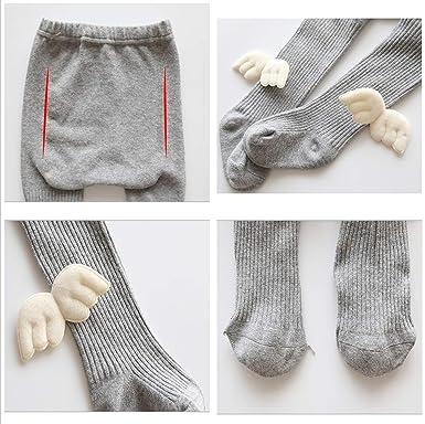 Morbuy Bebé Niñas Medias, Algodón Polainas Leggings Pantimedias Leotardos Calcetines Tejer Elásticos Alas Lindas: Amazon.es: Ropa y accesorios