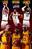 """Amazon Price History for:Trends International Cleveland Cavaliers Team Wall Poster 22.375"""" x 34"""""""