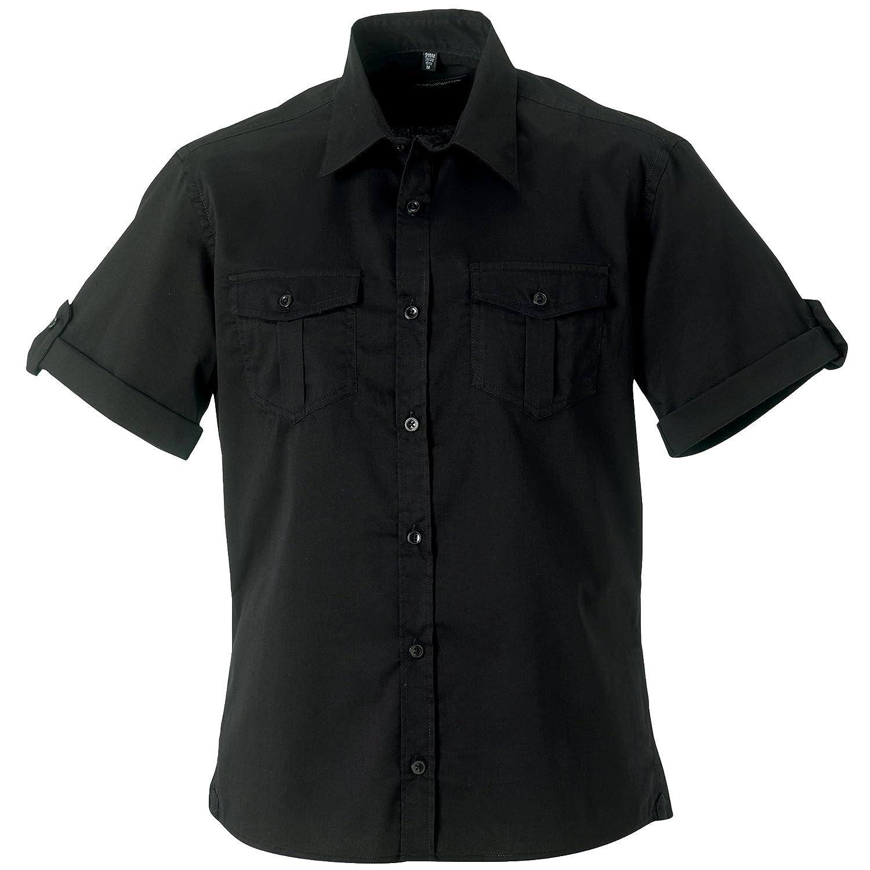 Russell Collection Herren Hemd Arbeitshemd, Kurzarm B00K3DXPX8 Business ein guter guter guter Ruf in der Welt 487281
