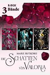 Spiel der Macht – Band 1-3 der romantischen Fantasy-Serie im Sammelband (Die Schatten von Valoria) (German Edition) eBook Kindle