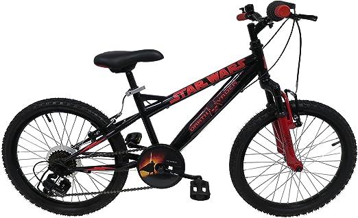 Star Wars Darth Vader Bicicleta niño, Color Negro, tamaño 20 Pulgadas: Amazon.es: Deportes y aire libre
