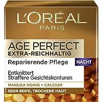 L'Oréal Paris Age Perfect Nachtverzorging, Anti-Aging Gezichtsverzorging, Ontkreukelt En Strak, Voor Zeer Rijpe En Droge…