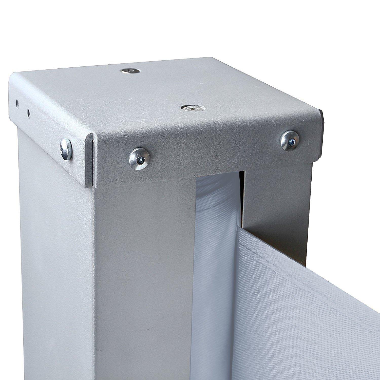 SAILUN/® Toldo Lateral para protecci/ón Solar 160//180 x 300 cm Color Antracita//Gris//Beige de poli/éster protecci/ón contra el Viento