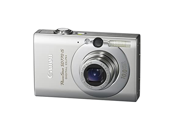 amazon com canon powershot sd770 is 10mp digital camera with 3x rh amazon com Canon PowerShot Camera Manual Canon PowerShot Manual Controls