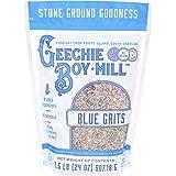GEECHIE BOY MILL Blue Grits, 24 OZ