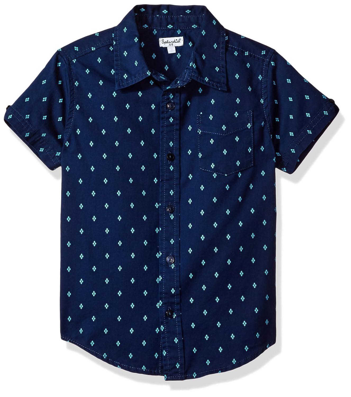 Splendid Boys' Seasonal Basic Allover Print Woven Shirt