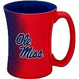 Boelter Brands NCAA Mississippi Ole Miss Rebels Sculpted Mocha Mug, 14-ounce