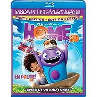 Home (Bilingual) [3D Blu-ray + DVD]