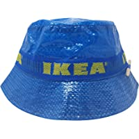 ASVP Shop IKEA Bucket Hat with Pencil Handmade Cap Fashion Street Wear Blue