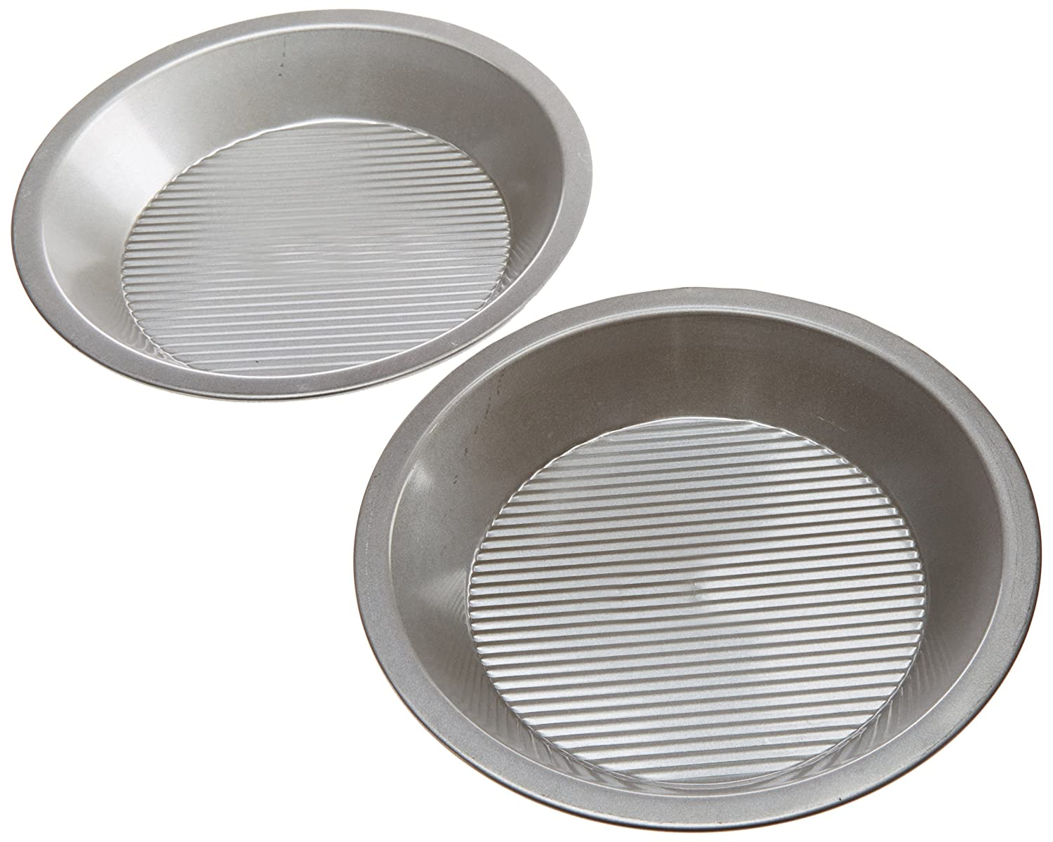 USA Pan Bakeware Aluminized Steel Pie Pan, 9-Inch 1100PE