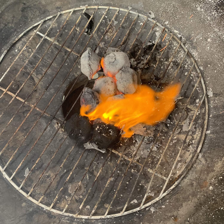 Amazon.com: MUXI Portable Grilling Charcoal Briquettes, 3 ...