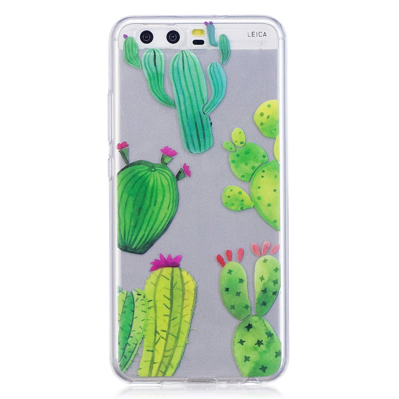 Kakteen Ooboom/® Huawei Y3 II H/ülle Transparent TPU Silikon Ultra D/ünn Durchsichtig Schutzh/ülle Handy Tasche Case Backcover f/ür Huawei Y3 II